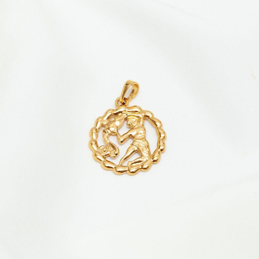 Кулон знак зодиака водолей 44 156008