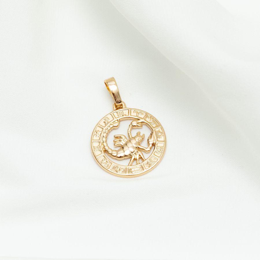 Кулон знак зодиака скорпион 15603