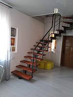 Лестницы на металлическом каркасе под ключ