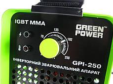 Инвертор сварочный Green Power GPI-250, фото 2