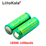 18500 3,7 V LiitoKala Lii-14A 1400 mAh аккумулятор вейп Li-Ion, фото 3