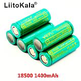 18500 3,7 V LiitoKala Lii-14A 1400 mAh аккумулятор вейп Li-Ion, фото 2