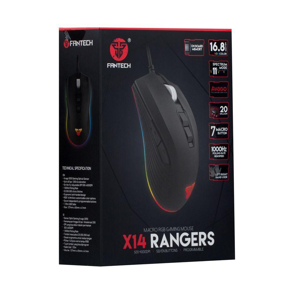 Мышь Usb Fantech X14 Rangers SKL11-232452