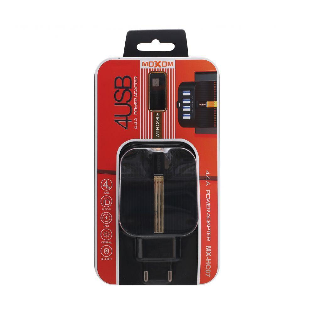 Сетевое зарядное устройство Moxom MX-HC07 Micro 4USB SKL11-231683