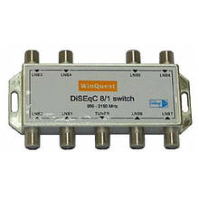 Комутатор DiSEqC 8x1 WinQuest GD-81A SKL31-150762
