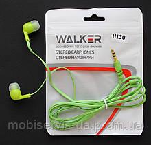 Наушники Walker H130 green тех пак