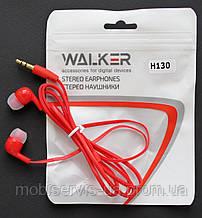 Наушники Walker H130 red тех пак
