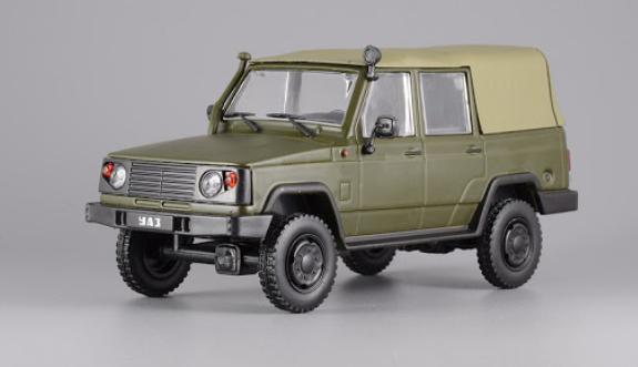 Автолегенды №94 УАЗ-3172 хаки | Коллекционная модель 1:43 | DeAgostini