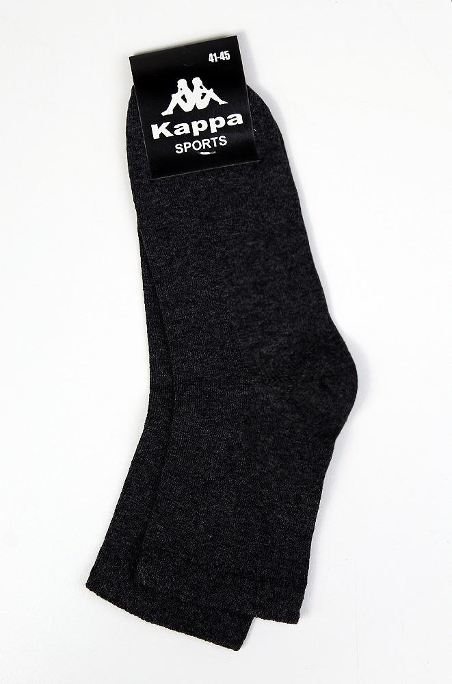 Носки мужские темно-серые размер 41-45 Kappa
