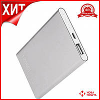 Павербанк PowerBank Xiaomi MI 12000 mAh СЕРЕБРО. Павер Банк