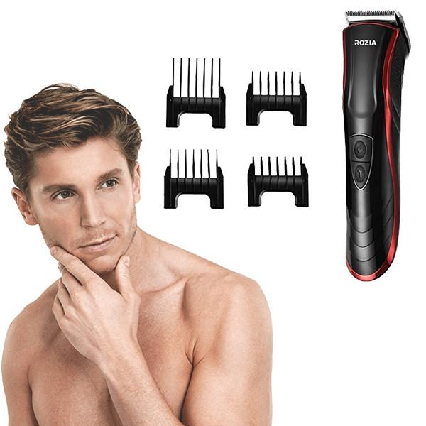 Машинка для стрижки волос ROZIA HQ 222T Черная
