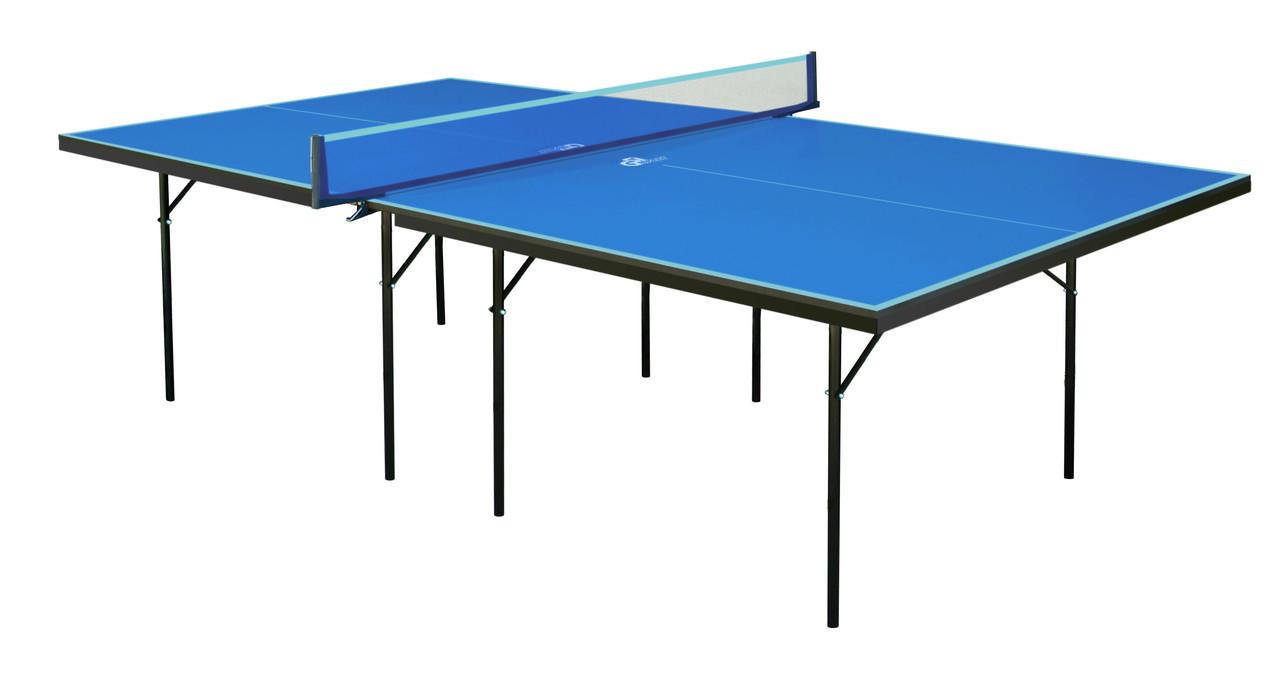 """Теннисный стол для помещений """"Gsi-sport"""" Hobby Strong синий, (016-0004)"""