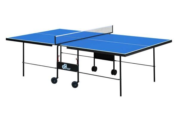 """Теннисный стол для помещений """"Gsi-sport"""" Athletic Strong синий, (016-0009)"""