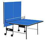 "Теннисный стол для помещений ""Gsi-sport"" Athletic Strong синий, (016-0009), фото 2"
