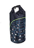 Уличная сумка  с защитой от воды (для  водных видов спорта) WATERPROOF BAG, фото 1