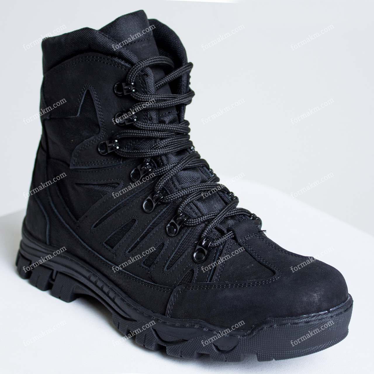 Ботинки Тактические Зимние Hunter Black