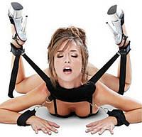 Наручники для фиксации набор для ролевых секс игр одежда аксессуары БДСМ BDSM эротические сексуальное белье