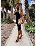 Облегающее платье - майка до колен в расцветках 73031439, фото 3