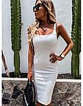 Облегающее платье - майка до колен в расцветках 73031439, фото 4