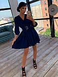 Шелковое платье с расклешенной юбкой и верхом на запах 66031447Q, фото 8