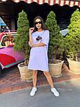 Спортивное платье свободного кроя с коротким рукавом и рисунком 63031451, фото 8