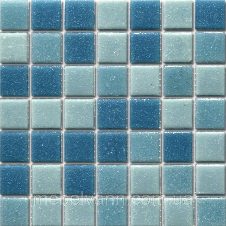 Мозаїка СМ mix01 скло прозоре 2,5*2,5