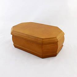 Шкатулка для ювелирных украшений деревянная Секрет