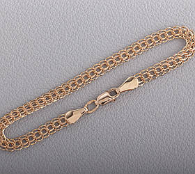 Золотий браслет Кардинал Бр602