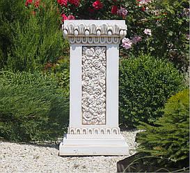 Садовая скульптура Колонна квадратная 76х38х38 см