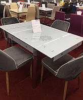 Стол обеденный Signal Мебель GD-082 80(131) х 75 см Белый (GD082B)