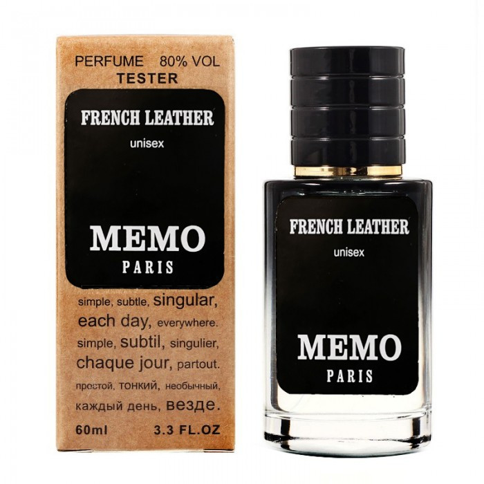 Memo French Leather TESTER LUX, унисекс, 60 мл