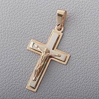 Золотой крестик П03015