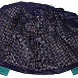 Бірюзова стьобана куртка демісезонна розміри 48 - 58, фото 5