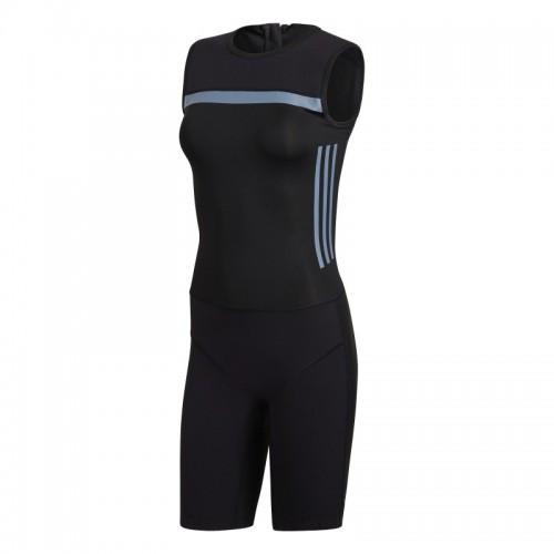 Женское трико для тяжелой атлетики Adidas Crazypower suit (черный, CW5660)