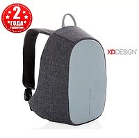 Рюкзак антивор с тревожной кнопкой XD Design Bobby Cathy Backpack Blue (P705.215), фото 1