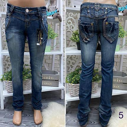 """Стильные джинсы прямого кроя, ткань """"Джинс"""" 25, 26 размер 25, фото 2"""