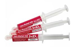 Jen-Relief 5 мл, Jendental – аппликационный гель-анестетик на основе бензокаина. Вкус: вишня.