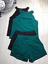 Женский летний костюм с шортами и блузой без рукава 83ks979, фото 3