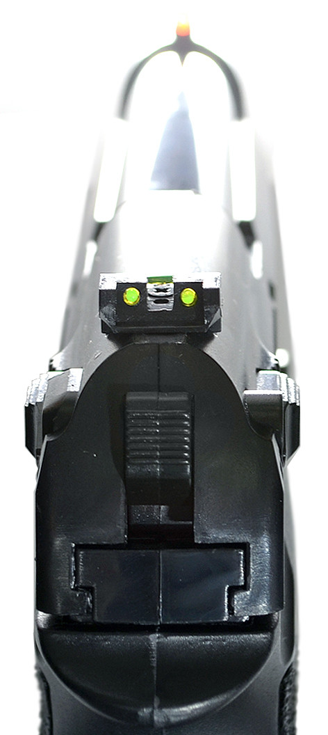 Целик и мушка Borner Sport 306 (C31) оснащены фибероптикой