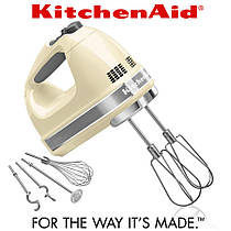 Ручной миксер KitchenAid 5KHM9212EAC, кремовый