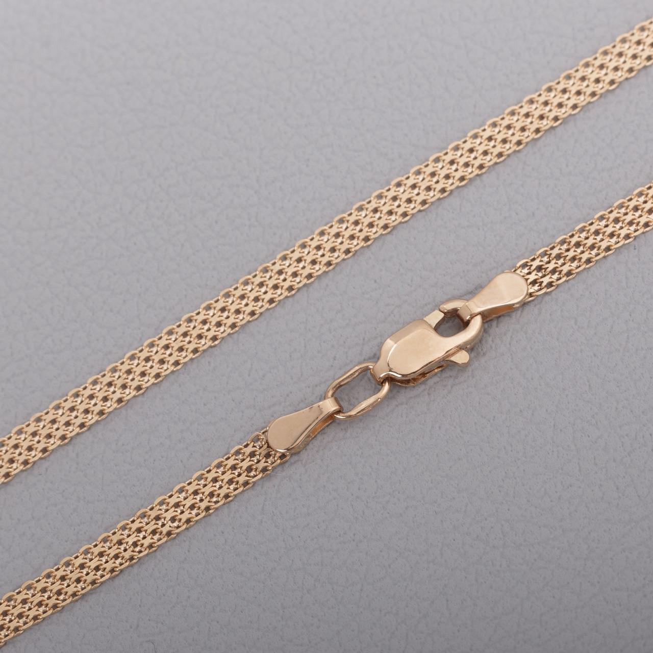 Золотой браслет Бисмарк Бр12403041