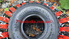 Резина на тачку 3.00-4 с камерой 4 PR, фото 2