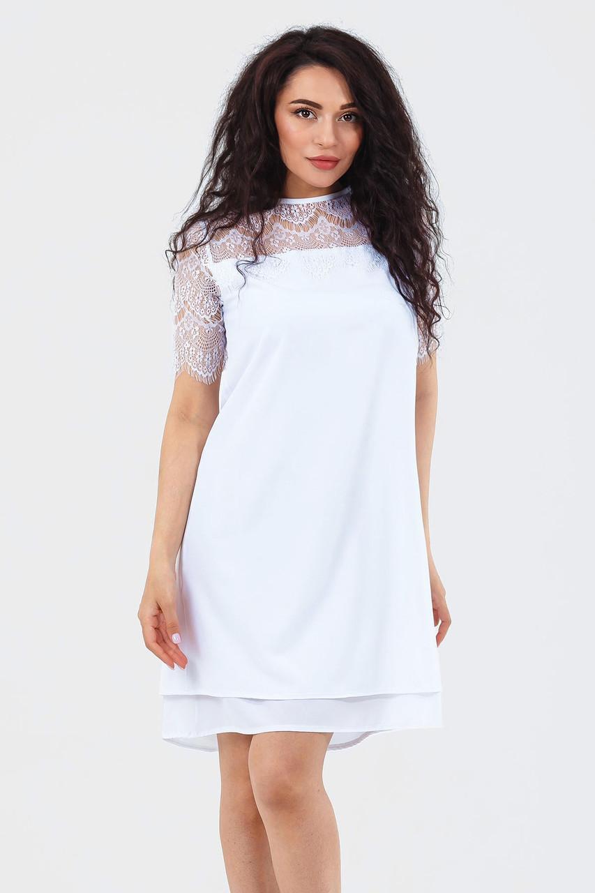 Жіноче коктейльне плаття Alexis, білий