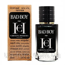 Carolina Herrera Bad Boy TESTER LUX, мужской, 60 мл