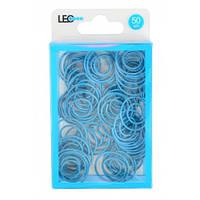 Скріпки круглі фігурні 50шт блакитні L1920-10