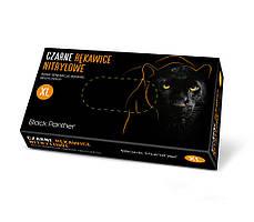 Рукавички нітрилові, DOMAN Black Panther - 100 шт/уп, ХL