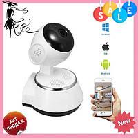 Камера видеонаблюдения WIFI Smart NET camera Q6, веб вай фай, Web камера онлайн wi-fi, с записью