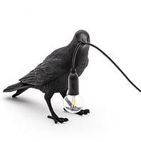 Светильник Ворона Waiting, черный