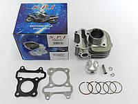 Цилиндр (в сборе) Suzuki Lets 4/5 Address V50 4т (CA41A) SPI/SEE (Тайвань)