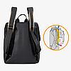 """Городской рюкзак Calvin Klein. Черный унисекс рюкзак. Рюкзак для ноутбука 15.6"""", фото 9"""